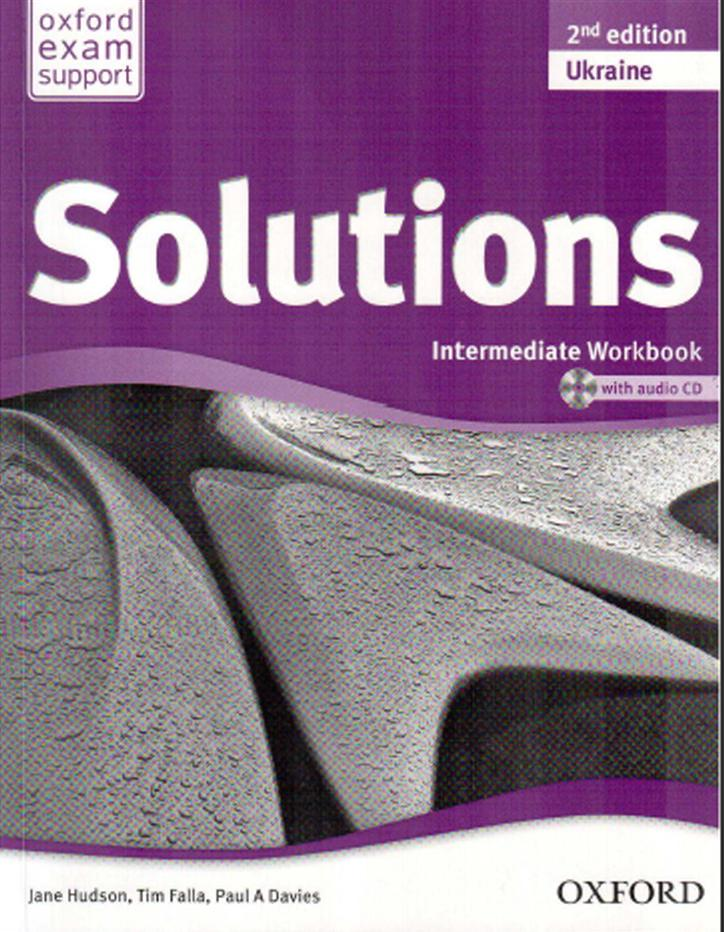 Solutions Elementary Workbook Решебник