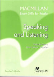 Macmillan Exam Skills for Russia, Speaking and Listening, Говорение, Аудирование, Teacher's book, 2006
