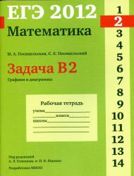 ЕГЭ 2012, Математика, Задача B2, Рабочая тетрадь, Посицельская М.А., Посицельский С.Е.