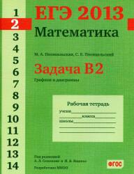 ЕГЭ 2013, Математика, Задача B2, Рабочая тетрадь, Посицельская М.А., Посицельский С.Е.