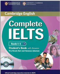 Complete IELTS, Bands 4-5, Student's Book with Answers, Brook-Hart Guy, Jakeman Vanessa, 2012