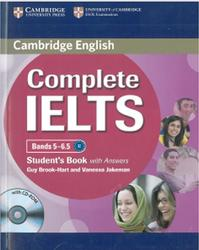 Complete IELTS, Bands 5-6.5, Student's Book with Answers, Brook-Hart Guy, Jakeman Vanessa, 2012