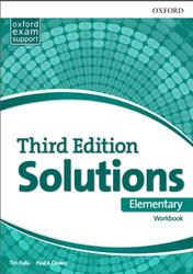 Solutions Elementary, Workbook, Tim Falla, Paul A Davies, 2017