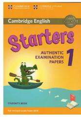 Cambridge English, starters, authentic examination papers 1, fourth edition, 2017