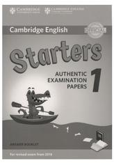 Cambridge English, starters, authentic examination papers 1, answer booklet, 2017