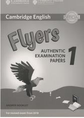 Cambridge English, flyers, authentic examination papers 1, answer booklet, 2017
