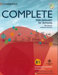 Complete Preliminary for Schools, Workbook without answers, 2019