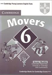 Cambridge english tests, Movers 6, Answer Booklet, 2009