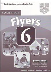 Cambridge english tests, Flyers 6, Answer Booklet, 2009
