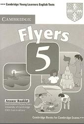 Cambridge english tests, Flyers 5, Answer Bookle, 2007