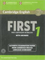 Cambridge English, First 1, With Answers, 2014