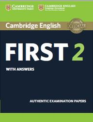Cambridge English, First 2, With Answers, 2014