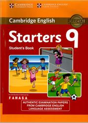 Cambridge English tests, Starters 9, Student's Book, 2015