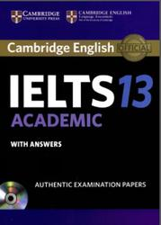 Cambridge English, IELTS Academic 13, With answers, 2018