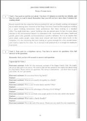 ОГЭ, Английский язык, Тест, Устная часть, Долгополова Я.В., Черновол-Ткаченко О.А., 2016