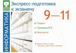 Экспресс-подготовка к экзамену, Информатика, 9-11 класс, 2006
