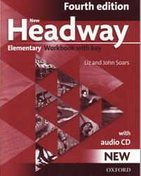 New Headway Elementary, Workbook with key, Liz Soars, John Soars