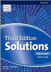 Solutions Advanced, Student's Book, Falla T., Davies P.A., Hudson J., 2018
