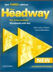 New Headway, Pre-Intermediate, Workbook With Key, Third edition, Soars J., Soars L., Wheeldon S., 2006