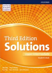 Solutions Upper-Intermediate, Student's Book, Falla T., Davies P.A., 2017