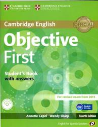 Objective First, Student's Book with Answers, Capel A., Sharp W., 2014