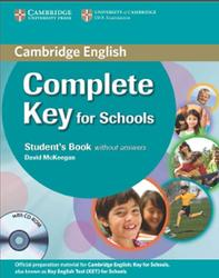 Compact Key for Schools, Student's Book Without Answers, McKeegan D., 2014