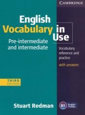 English Vocabulary in Use, pre-intermediate and intermediate, third edition, Redman S., 2011