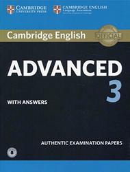 Cambridge English, Advanced 3, Authentic Examination Papers, 2018