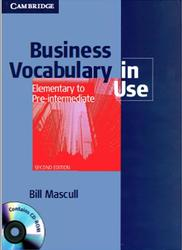 Business Vocabulary in Use, Elementary to Pre-intermediate, Mascull B., 2010