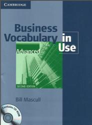 Business Vocabulary in Use, Advanced, Mascull B., 2010