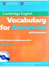 Cambridge vocabulary for advanced, Haines S., 2012