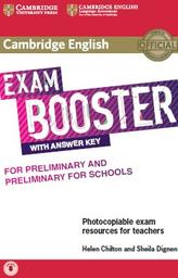 Exam booster, with answer key, Chilton H., Dignen S., 2017