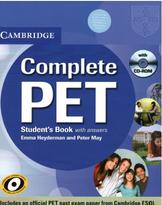Complete PET, student's book, with asnwers, Heyderman E., May P., 2010