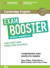 Cambridge English, exam booster, without answers, Chilton H., Dignen S., Fountain M., Treloar F., 2017