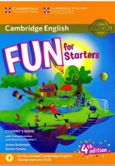 Cambridge English, fun for starters, student's book, fourth edition, Robinson A., Saxby K., 2017