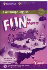 Cambridge English, fun for movers, teacher's book, fourth edition, Robinson A., Saxby K., 2017