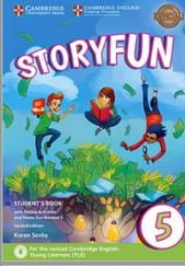 Cambridge English, storyfun 5, student's book, second edition, Saxby K., 2017