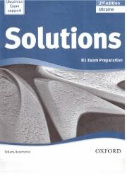 Solutions ukraine, b1, exam preparation, Redchenko T.