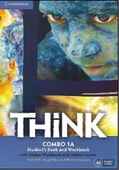 Think combo, 1a, student's book, workbook, Puchta H., Stranks J., Lewis-Jones P.