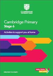 Cambridge Primary, Stage 6, Activities to support you at home