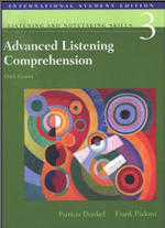 Advanced Listening Comprehension. - Patricia D. Frank P.