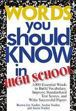 Words you should know in high school - Burton Jay Nadler, Jordan Nadler, Justin Nadler