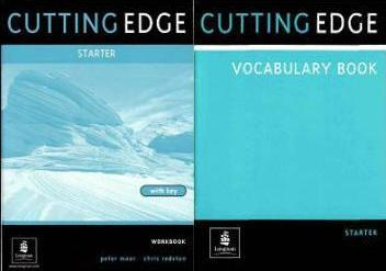 Cutting Edge - Starter - Workbook with key and Vocabulary Book