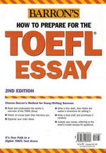 Barron's  How to Prepare for the TOEFL Essay - Lynn Lougheed