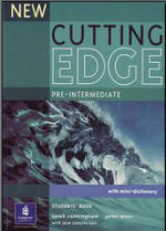 New Cutting Edge, Pre-Intermediate, book for students , Sarah Cunningham, Peter Moor, Carr