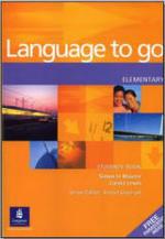 Language to go - Elementary - Student s book - Simon le Maistre, Carina Lewis