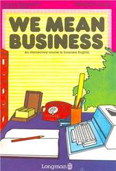 We Mean Business. Student's Book. Norman S. 1993