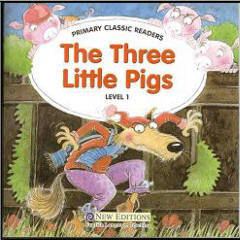 The Three Little pigs, Level 1, Аудиокурс MP3