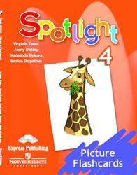 Английский язык, 4 класс, Spotlight 4, Picture Flashcards, Evans V., Dooley J.