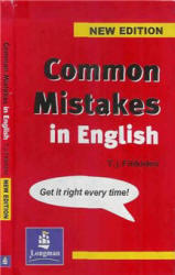 Common Mistakes in English, Fitikides T.J., 2002